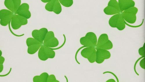 4 Leaf Luck on White - 442