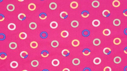 Circle on Pink - 442