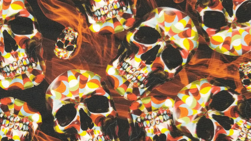 Skulls with Flame - 442