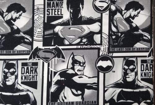 Batman on Black and White