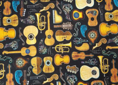 Guitars on Black