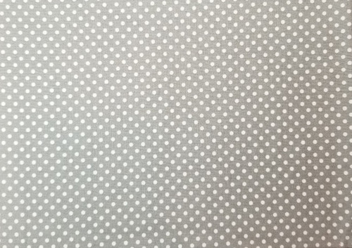 Grey with White Dots