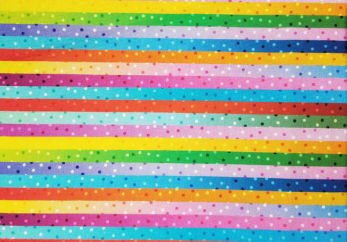 Stripes and Dots with So Many Colors