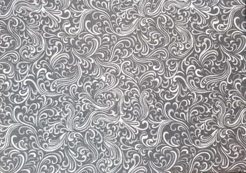 Grey Doodle on Dary Grey