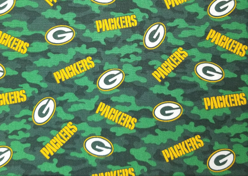 Packers - camo green with gold