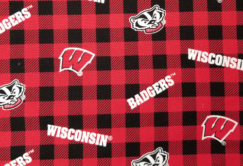 Wisconsin Badgers - buffalo plain Bucky