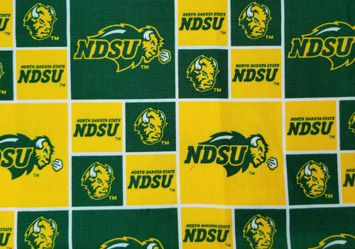 NDSU - box green and yellow
