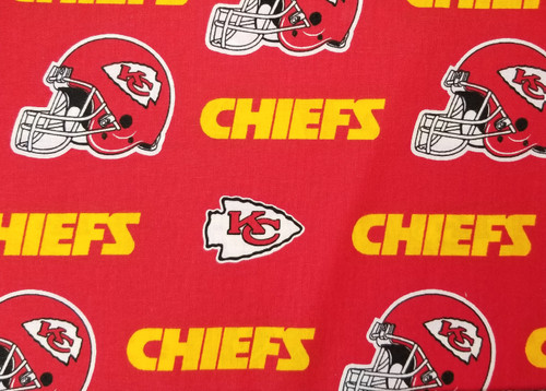 Kansas City Chiefs - large logo, red and yellow