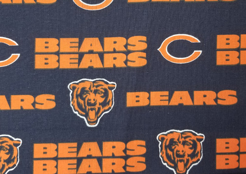 Chicago Bears - large logo, navy and orange