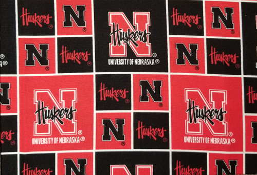 Nebraska Huskers - red and black boxes