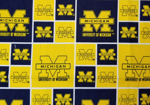 U of Michigan - maize and blue