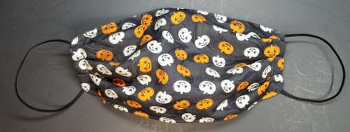 Halloween - Happy Jack-O-Lanterns on Black