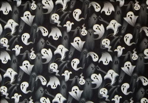 Halloween - Ghosts on Black