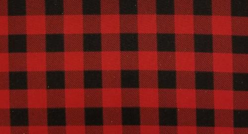 Buffalo Plaid Red and Black