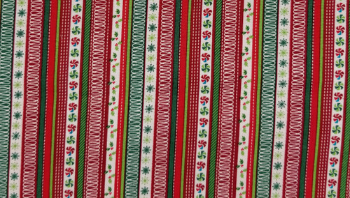 Candy Ribbon - Christmas Ribbon - Red, Green, and White