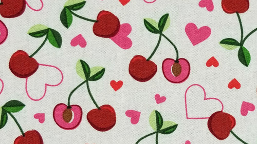 Cherries and Hearts - 125