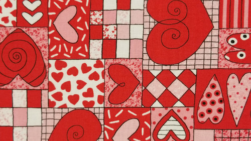 Geometric Designs and Hearts - 125
