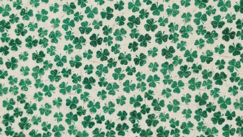 Clover on White - 125