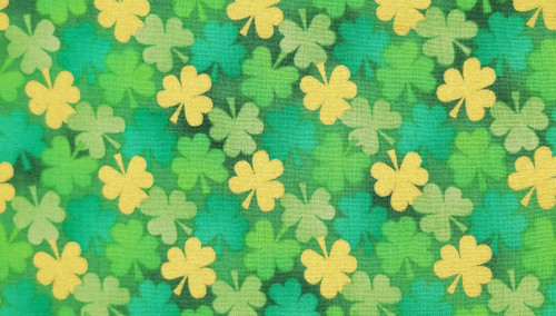 Yellow / Green / Blue Clovers - 125