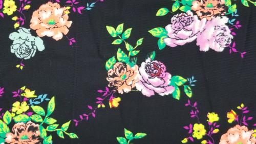 Floral on Black - 44
