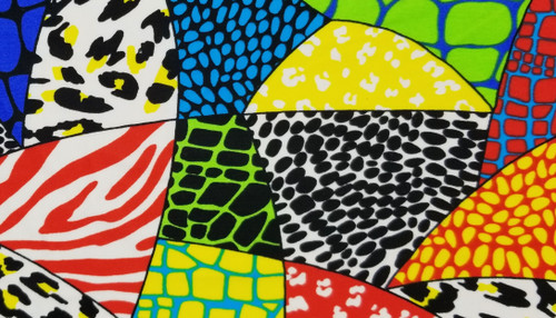Animal Print - Primary Colors - 44