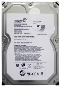 "ST31000520AS Seagate Barracuda LP ST31000520AS 1 TB 3.5"" Internal Hard Drive - SATA - 5900 - 32 MB Buffer - Hot Swappable (ST31000520AS)"