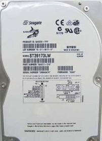 SEAGATE - BARRACUDA 9.1GB 7200 RPM ULTRA2-68PIN SCSI HARD DISK DRIVE. 3.5 INCH LOW PROFILE (1.0 INCH) (ST39173LW).  (ST39173LW)