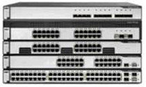 Cisco Catalyst 3750G-24TS with 24 Ethernet 10/100/1000 ports and four Small Form-Factor Pluggable (SFP) uplinks (WS-C3750G-24TS)