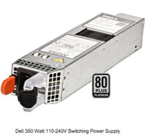 0P7GV4 Dell PE Hot Swap 350W Power Supply (0P7GV4) - RECERTIFIED