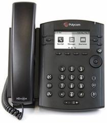 Polycom VVX 311 Business Media Phone w/AC Adapter (2200-48350-001) - RECERTIFIED