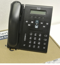 Cisco 6921 IP Phone w/Slimline Handset