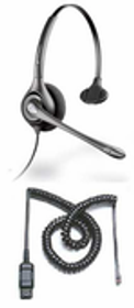 Plantronics H251N Headset Package for Avaya Digital and IP Phones