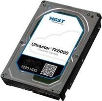 "Hitachi ultraStar 7K6000 6TB 7.2K SATA 128MB 512E 6G 3.5"" HDD (HUS726060ALE610) - RECERTIFIED"