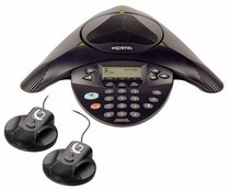 Nortel IP Audio Conference Phone 2033 w/PoE Module and External Microphones (NTEX11BA70E6) - RECERTIFIED