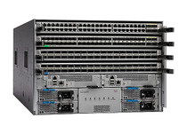 Cisco Nexus 9504 Chassis Bundle - switch - managed - rack-mountable - with (N9K-C9504-B1) - RECERTIFIED
