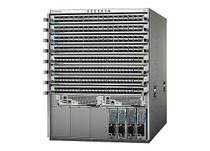 Cisco Nexus 9508 - switch - 96 ports - managed - rack-mountable - with 2 x (N9K-C9508-B18Q) - RECERTIFIED