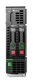 HP 813195-B21 PROLIANT BL460C G9- 2X INTEL XEON 12-CORE E5-2650V4/2.2GHZ 60MB L3 CACHE 64GB DDR4 SDRAM 2X10 GIGABIT ETHERNET 2-WAY BLADE SERVER.