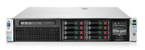 HP 748303-S01 PROLIANT DL380P G8 S-BUY- 2X XEON 10-CORE E5-2690 V2/3.0GHZ, 32GB DDR3 RAM, 8SFF SAS/SATA HDD BAYS, HP SMART ARRAY P420I/1GB FBWC (RAID 0/1/1+0/5/5+0), HP ETHERNET 1GB 4-PORT 331FLR ADAPTER, 2X 750W PS, 2U RACK SERVER.