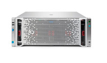 HP 793310-B21 PROLIANT DL580 G9 HIGH PERFORMANCE - 4X INTEL XEON 14-CORE E7-4850V3/ 2.2GHZ, 128GB(8X16GB) DDR4 SDRAM, SMART ARRAY P830I WITH 4GB FBWC, FLEXFABRIC 10GB 2P 534FLR-SFP+ ADAPTER, 4X 1200W RPS 4U RACK SERVER.