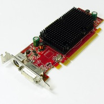 DELL YR863 ATI RADEON HD 2400 PRO 256MB PCI EXPRESS X16 GDDR2 SDRAM DVI TVI OUT GRAPHICS CARD W/O CABLE.  IN STOCK