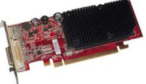 DELL - ATI RADEON X1300 PRO 256MB PCI-EXPRESS X16 DUAL VGA LOW PROFILE GRAPHICS CARD WITH S-VIDEO 59PIN(KT154).