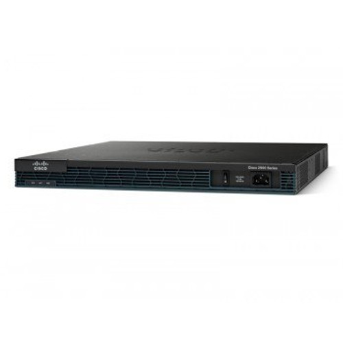 C2901-VSEC/K9 Cisco Router ISR G2 Voice Security Bundle (C2901-VSEC/K9) - RECERTIFIED