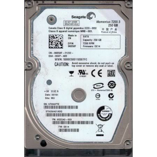 Dell 2-TB 12G 7.2K 2.5 SAS  (YX2NX) - RECERTIFIED