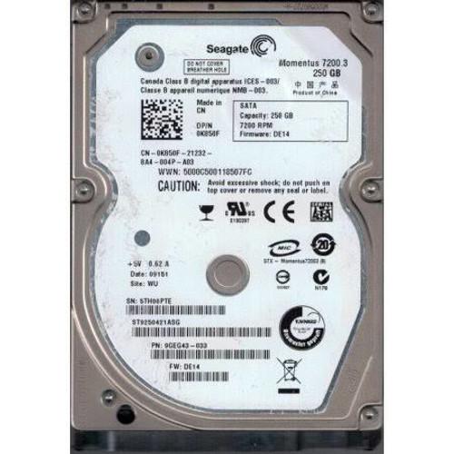 Dell 2-TB 12G 7.2K 2.5 SAS (YX2NX) - RECERTIFIED