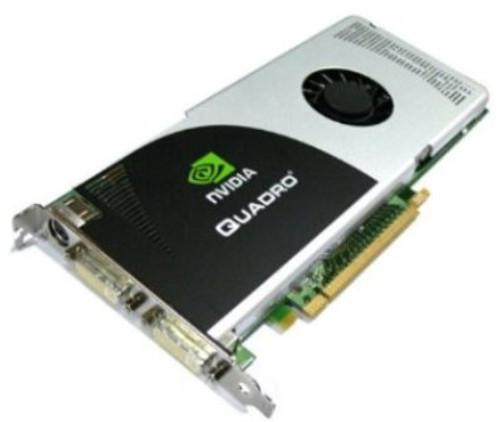HP 462790-001 NVIDIA QUADRO FX 3700 PCI EXPRESS X16 GDDR3 512MB VIDEO CARD FOR WORKSTATION.