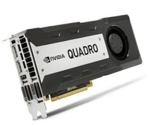 HP 713382-001 NVIDIA QUADRO K6000 PCI EXPRESS X16 12GB GDDR5 SDRAM GRAPHICS CARD.