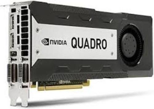 HP 713207-001 NVIDIA QUADRO K6000 PCI EXPRESS X16 12GB GDDR5 SDRAM GRAPHICS CARD.