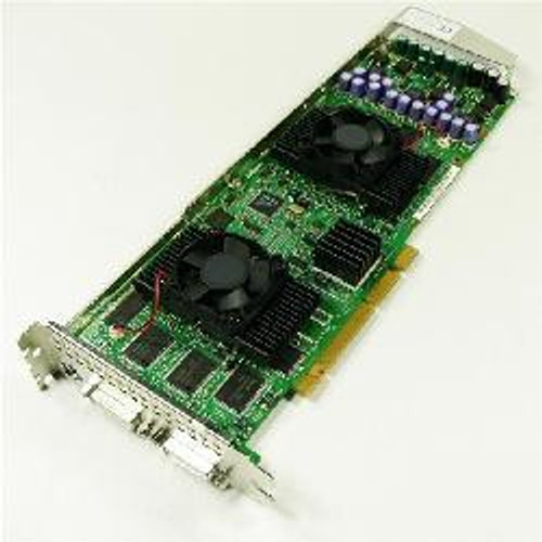 DELL - 3D LABS WILDCAT 7110 256MB AGP DDR DUAL DVI GRAPHICS CARD W/O CABLE(5U972).QUADRO-5U972