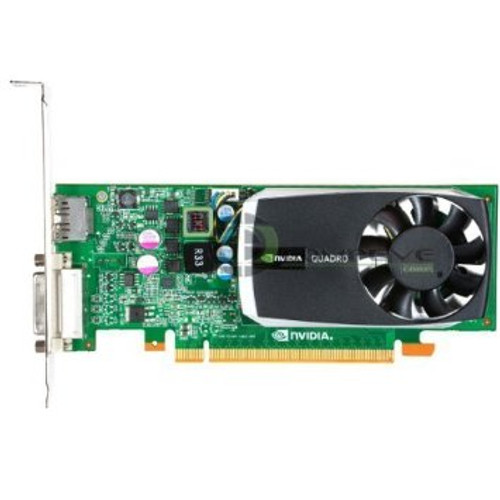 DELL 5YGHK NVIDIA QUADRO 600 PCI EXPRESS 2.0 X16 1GB GDDR3 GRAPHICS CARD W/O CABLE.QUADRO 600-5YGHK