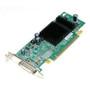 DELL P4007 ATI RADEON X300 PCI-E X16 128 MB DDR SDRAM DUAL DVI DMS-59 LOW PROFILE GRAPHICS CARD.